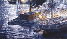 CSS Arkansas vs USS Essex
