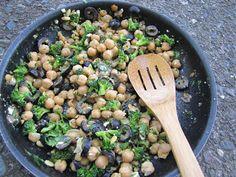 Albion Cooks: Chickpea, Broccoli & Olive Salad