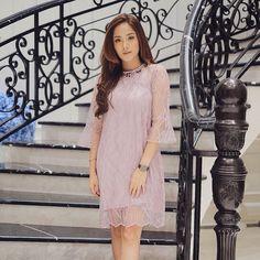 Dress formal Dusty Purple, Dress Formal, Dresses With Sleeves, Long Sleeve, Fashion, Moda, Sleeve Dresses, Long Dress Patterns, Fashion Styles