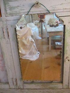 Fabulous Vintage Etched Mirror By Whitecottageinhills On Etsy 6500