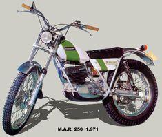 Ossa M.A.R. 250 (1971) Motos Trial, Trial Bike, Flat Tracker, Bmw, Street Tracker, Trail Riding, Vintage Bikes, All Cars, Bobber