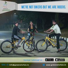 We're not #Bikers but we are #Riders  #Greenolution #BikeShare #BikeSharing #BikeRent #BikeRenting  #CycleOnRent #BicycleOnRent  #CycleShare #CycleSharing #CycleRent #CycleRenting  #BicycleShare #BicycleSharing #BicycleRent #BicycleRenting  #RentBicycle #RentCycle  #PublicBikeSharing #PublicBicycleSharing #PublicCycleSharing  #ShareBicycle #ShareCycle  #LetUsCycle #BicycleSharingScheme #CycleSharingScheme  #RentACycle #RentABicycle  #Bicycle #Cycle