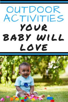 Find simple and fun summer baby activities. Read about ways to teach your baby in your own backyard. Fun outdoor baby play that will help them explore their surroundings. Sensory play ideas for a fun learning experience. Best outdoor toys for babies. Best Outdoor Toys, Outdoor Baby, Fun Outdoor Activities, Infant Activities, Spring Activities, Educational Activities, Baby Play, Baby Toys, Before Baby