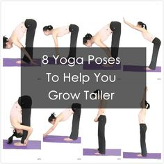 8 yoga poses to help you grow taller