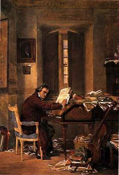 Ludwig van Beethoven composing at the piano in his house. Classical Period, Classical Music, Life Is Depressing, Romantic Composers, Circle Of Fifths, Music Theory, Piano Music, Art Reproductions, Orchestra