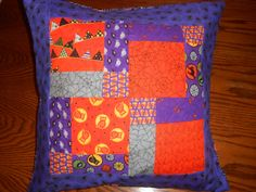 Pillow Covering/ Halloween Pillow Covering/ by sewinthefaith, $15.00