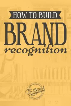 How To Build Brand Recognition: A Solopreneur's Roadmap #productivity Productivity Tip #productive