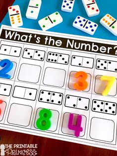 Numbers to 10 Activities for Little Learners Click through to find a Numbers to 10 Assessment FREEBIE and activities that are just perfect for Kindergarten [. Kindergarten Math Activities, Fun Math, Number Games For Kindergarten, Subitizing Activities, Back To School Activities Ks1, Number Activities For Preschoolers, Phonics Games Year 1, Center Ideas For Kindergarten, Maths Games Ks1