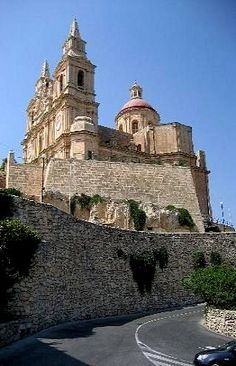 The Church in Mellieha │Come to Malta and discover our culture. There is no better place to learn English: http://lifeinmalta.com/ #malta #church #lifeinmalta