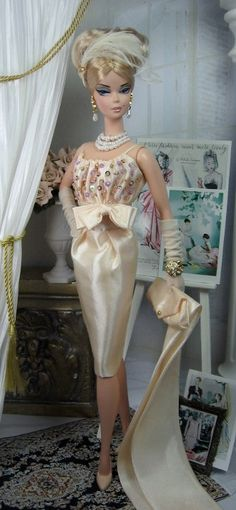 Silk Slipper for Silkstone Barbie and Victoire Roux