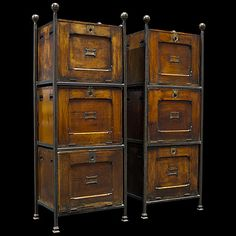 Marvelous File Cabinets  Possibly The Most Beautiful File Cabinets I Have Ever Seen.  I Love