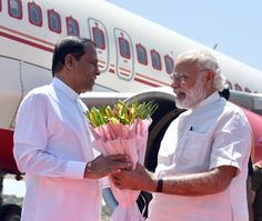 The First Mail | Maithripala Sirisena Being Received By PM Modi