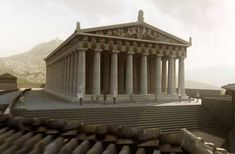 Find out why countless banks, museums have been modelled on the ancient Greek temple. Classical Architecture, Sustainable Architecture, Landscape Architecture, Macedonia Greece, Old Abandoned Houses, Greek History, Ancient Mysteries, Ancient Civilizations, Ancient Greece