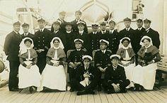 Naval Nurses onboard HM Hospital Ship Plassy