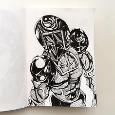 今日のウォーズマンは 「ウォーズマン煌き」 光沢感のあるウォーズマンを。 テカテカに油ぎってる方が 筋肉はきれいに見える。 #kinnikuman #warsman #ussr #yudetamago #illustration #muscle #macho #pen #sketchbook #art #manga #japanese #Japan #manga #comic #tokyo #blackandwhite #6pack #キン肉マン #今日のウォーズマン #ゆでたまご先生 #イラスト #漫画 #落書き #ウォーズマン #イラスト #手描き #ペン #白黒 #スケッチブック