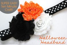 10 Minute Craft: Halloween Headband - Happiness is Homemade