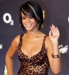 Rihanna's hair wish I could pull this cut off,  Go To www.likegossip.com to get more Gossip News!