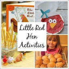 Little Red Hen Activities for Kids