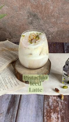 Iced Latte, Bacalhau Recipes, Aloo Recipes, Pistachio, Coffee Drink Recipes, Frozen Drinks, Food Goals, Cafe Food, Summer Drinks
