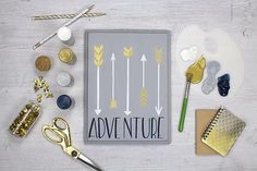 Create this project with Americana® Stencils — Let your arrow guide you next adventure in this project using Americana Stencils.