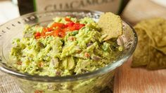 Roasted Red Pepper Guacamole OMG I have got to try this, it looks so delicious.