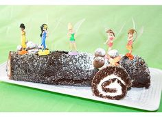Tinkerbell Party Theme - Log Cake