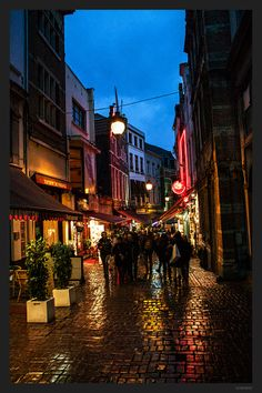 Brussels, Belgium Street