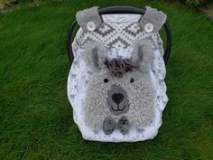 Llama Fitted Car Seat Canopy With Peek-A--Boo Opening Carseat cover/ Boys Or Girls Canopy by lindasnd on Etsy Girls Canopy, Baby Carrier Cover, Cover Boy, Canopy Cover, Fabric Combinations, Baby Must Haves, Fit Car, Cute Cars, Soft Shorts