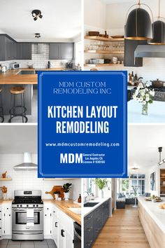 When it comes to remodeling a home, homeowners think about the kitchen layout first. Whatever you want to add to your kitchen, choose the proper layout.