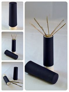 prym needle case | super-clever magnetic needle-case that twists up like a tube of lipstick!