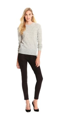 Cashmere Crew Neck Sweater from Joe Fresh. Crafted in cashmere. Destined to become an instant classic. Only $99.