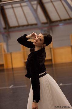 Isabelle Ciaravola by anne deniau. Paris Opera Ballet