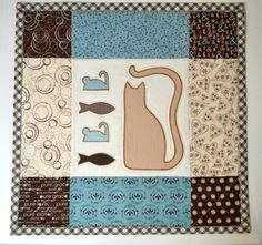 Hey, I found this really awesome Etsy listing at https://www.etsy.com/listing/232342061/appliqued-cat-quilt