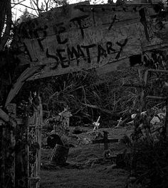 I sneaked into the theater to see this in 1989 when I was somewhere between 12 and 13…DEFINITELY too young for a rated R horror flick. My friend and I made it to the scene where Victor Pascow showed Louis where NOT to hike before we lost our minds and ran out of there. We ended up sneaking into Bill & Ted's Excellent Adventure, which was much more suited to our adolescent hypothalami.    A year or so later, Pet Sematary became— and remains— one of my favorite novels.