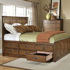 Style meet storage with our Oakhurst 6 Drawer Storage Panel Bed. Bring this look into your home!