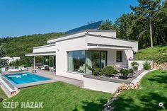 Fehér a zöldben - Szép Házak Minden, Outdoor Decor, Home Decor, Templates, Architecture, House, Decoration Home, Room Decor, Home Interior Design