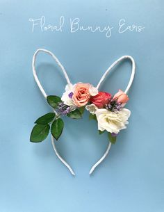 DIY: Easter Floral Bunny Ears | The Sweet Escape.ca