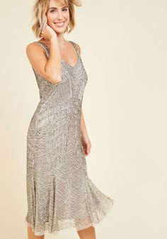 Bead the Band Sequin Dress, #ModCloth