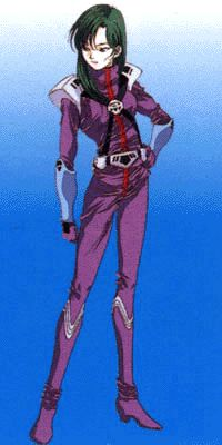 Robotech - Miriya Parina Sterling. The Meltrandi's nearly unbeatable pilot, only bested by Max Sterling because she lost her cool.