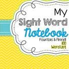 This sight word notebook has been a part of my weekly homework routine for many years. It is a great independent routine for your students to pract...