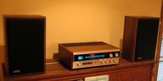 EPI speakers and Sherwood receiver