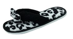 Amazon.com: Woman's Fashion Terry Thong Flip Flop House Slippers ...
