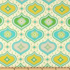 Kumari Garden Chandra Blue - Discount Designer Fabric - Fabric.com