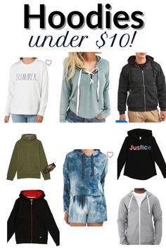 Clothes Sale: Hoodies & Sweatshirts For Men, Women, Kids Under $10! Men Fashion, Fashion Beauty, Walmart Kids, Champion Brand, Shopping Tips, Cheap Hoodies, Online Deals, Zip Hoodie, Clothes For Sale