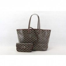 Goyard Saint Louis Tote Bag MM Coffe