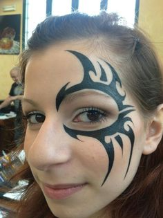 Tribal eye design great for guys.