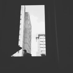 The rear view. Vsco Grid, Rear View, Black And White, Life, Black N White, Black White