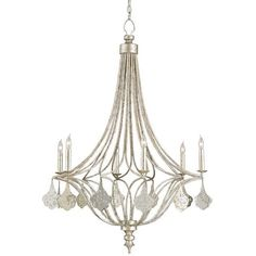 Currey and Company Lavinia Chandelier 9343