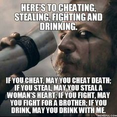 Cheers! Viking Power, Viking Life, Viking Warrior, Wisdom Quotes, Me Quotes, Motivational Quotes, Inspirational Quotes, Qoutes, Viking Quotes