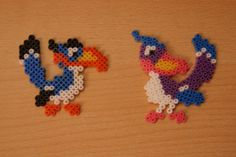 Zazu The Lion King hama perler by coup-mouss